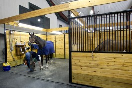 Our  facility is conveniently nestled among quiet horse country near the border of  North Salem, New York yet near enough to routes 84 and 684 to be an easy  destination for your equine medical needs.